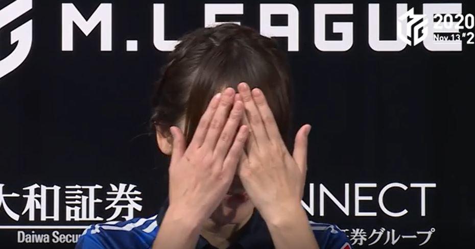 瑞原明奈が勝利者インタビューで恥ずかしそうに「大好き」と言ったシーン